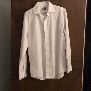 Kenneth Cole White Button Down